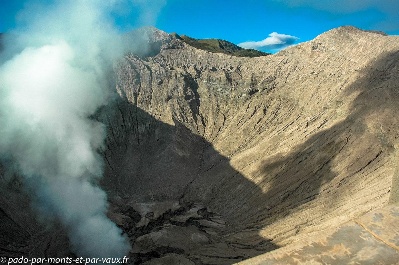 cratère du Bromo