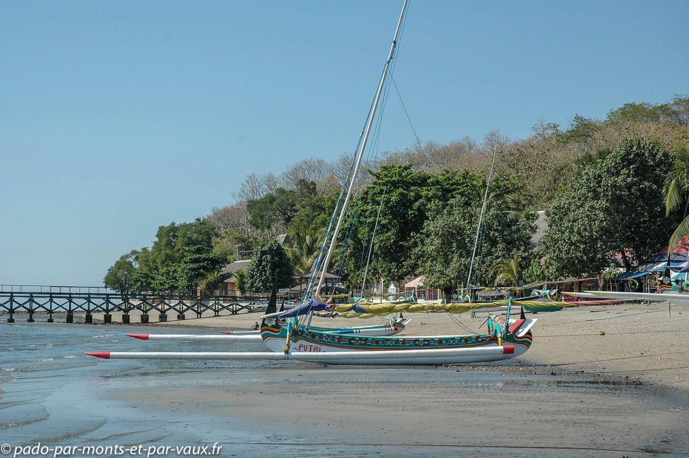 côte nord - est de Java