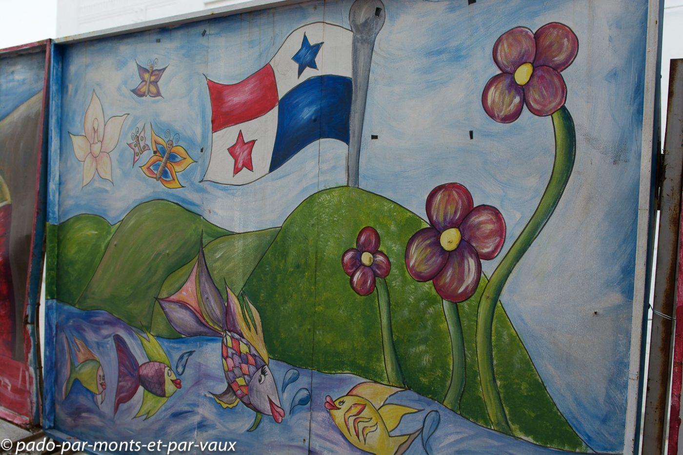 Street art Panama city