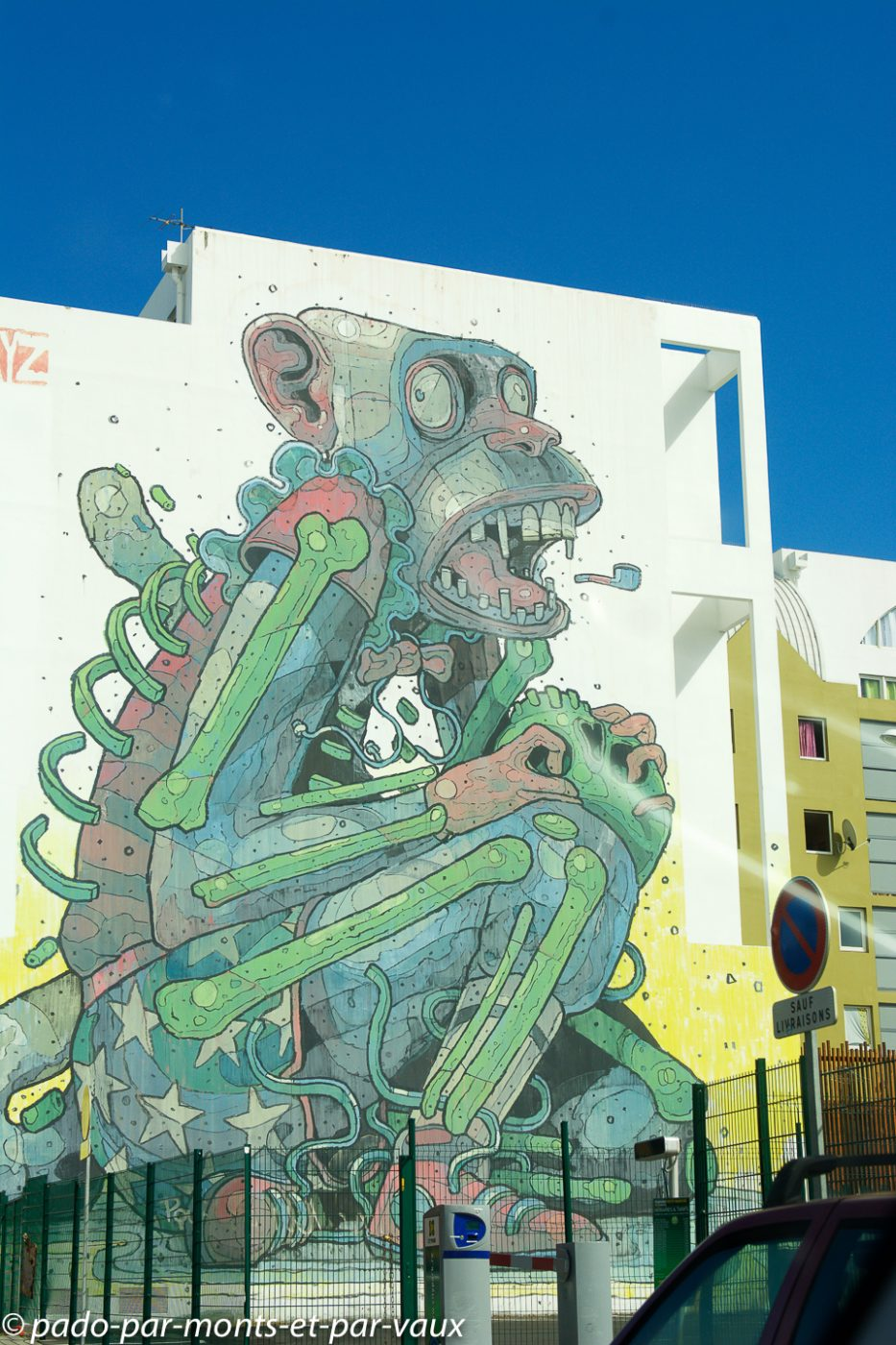 Street art St Denis - Ile de la Reunion