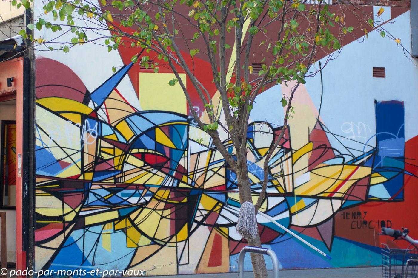Street art Sydney - Potts point