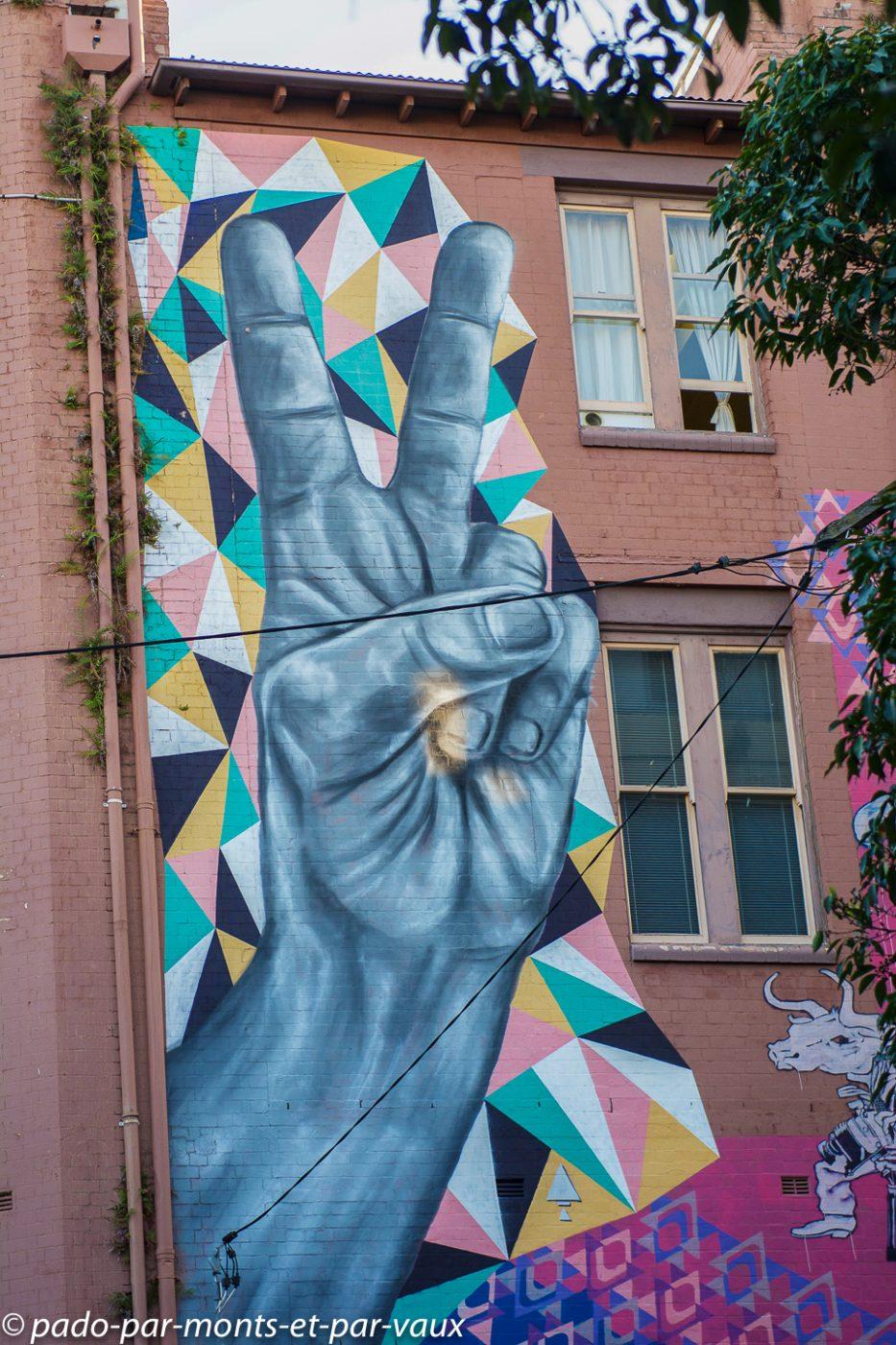 Street art Sydney - Darlinghurst