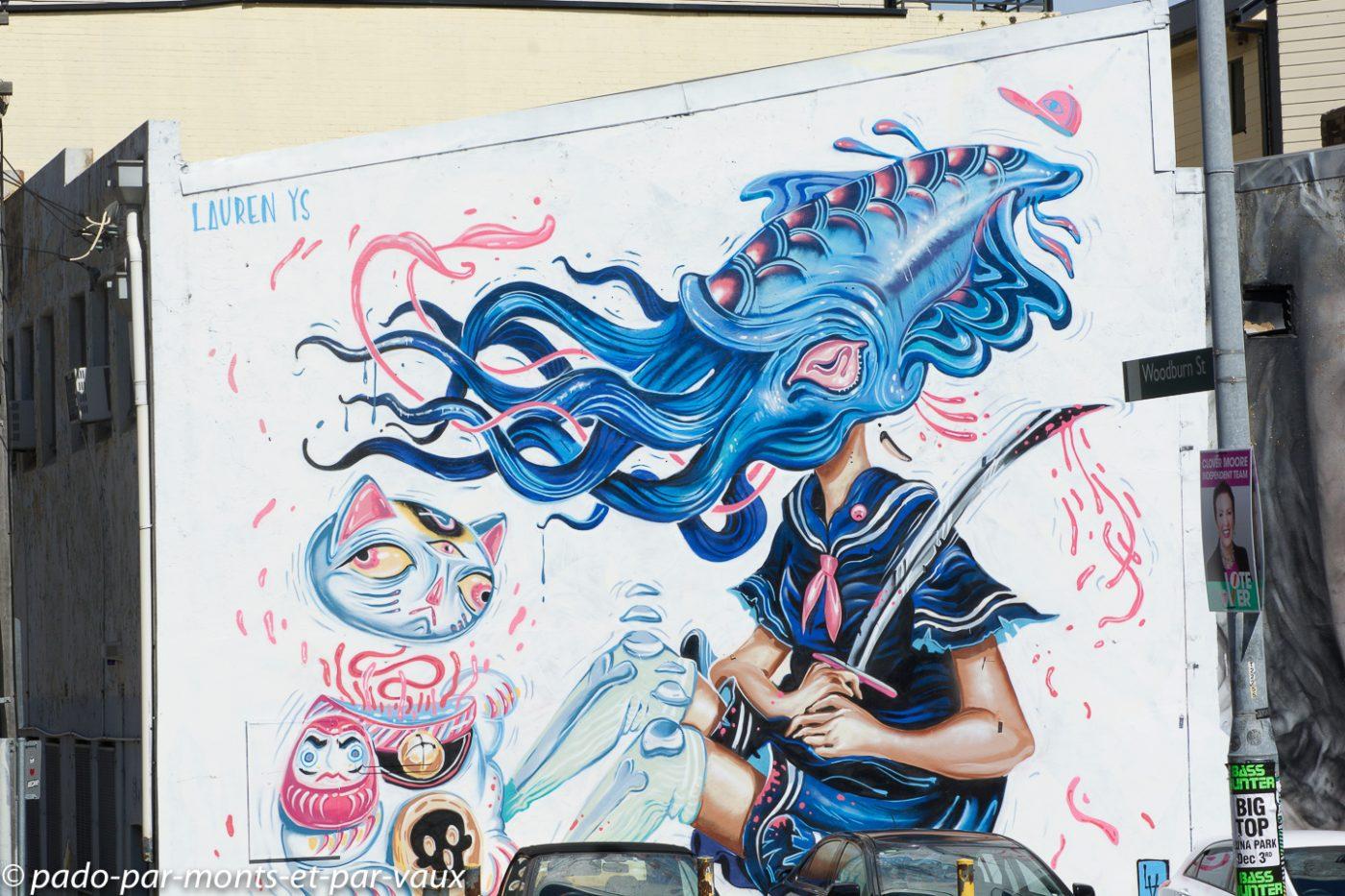 Street art Sydney - Chippendale