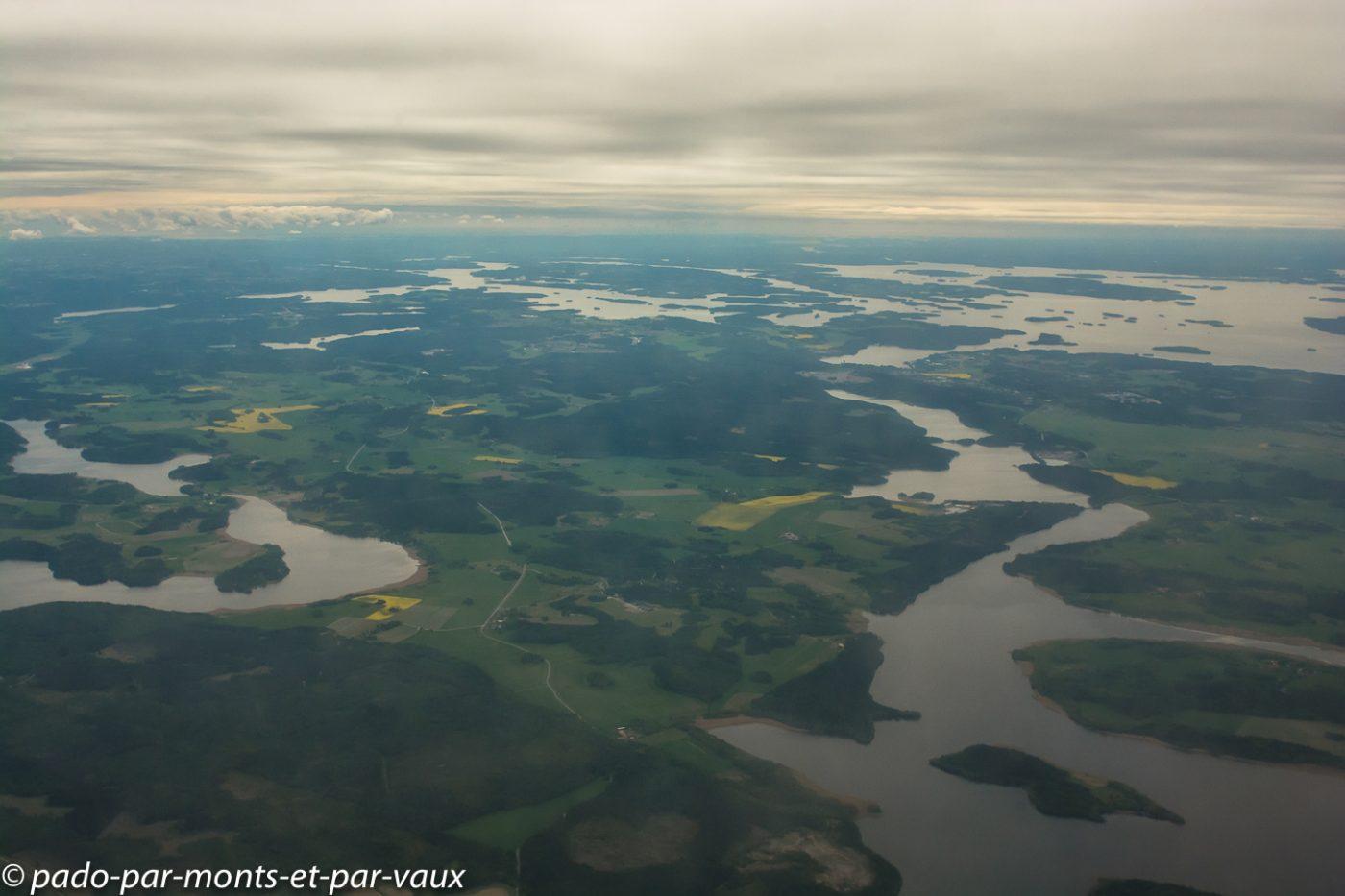 survol Suède