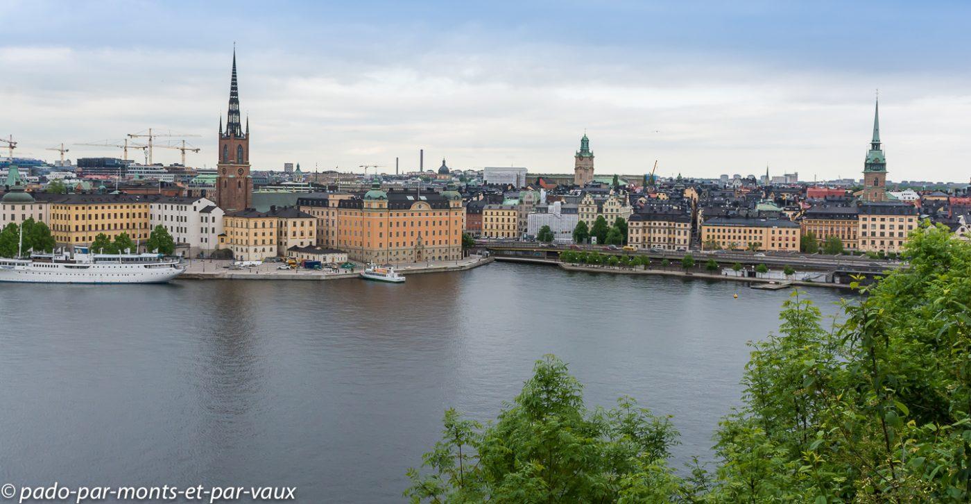 Stockholm - Vue depuis Södermalm