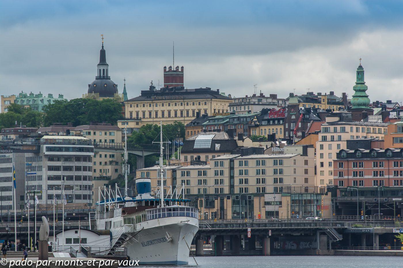 Stockholm - Vue depuis l'Hôtel de ville