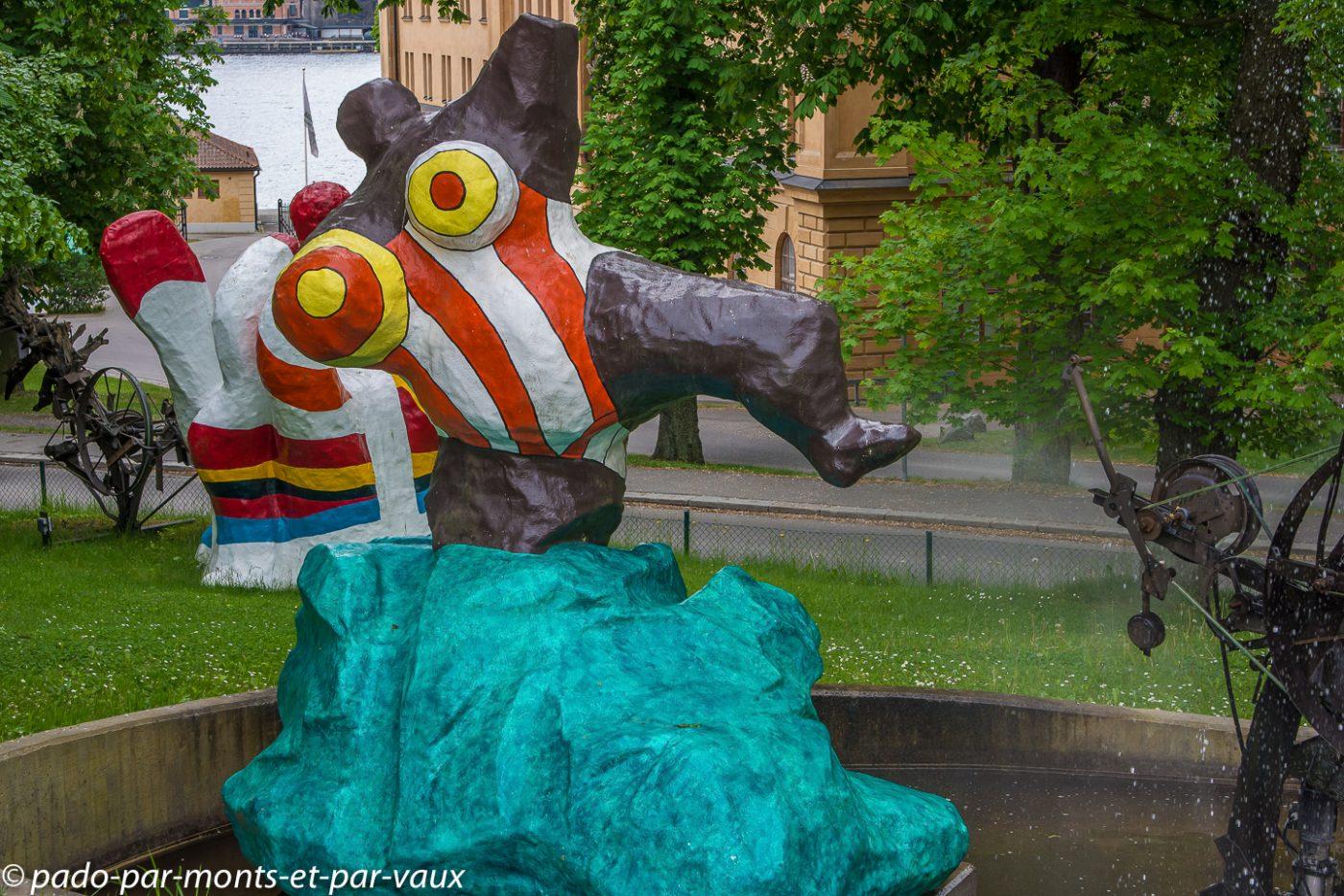 Stockholm - musee d'art moderne - Nikki de Saint Phalle