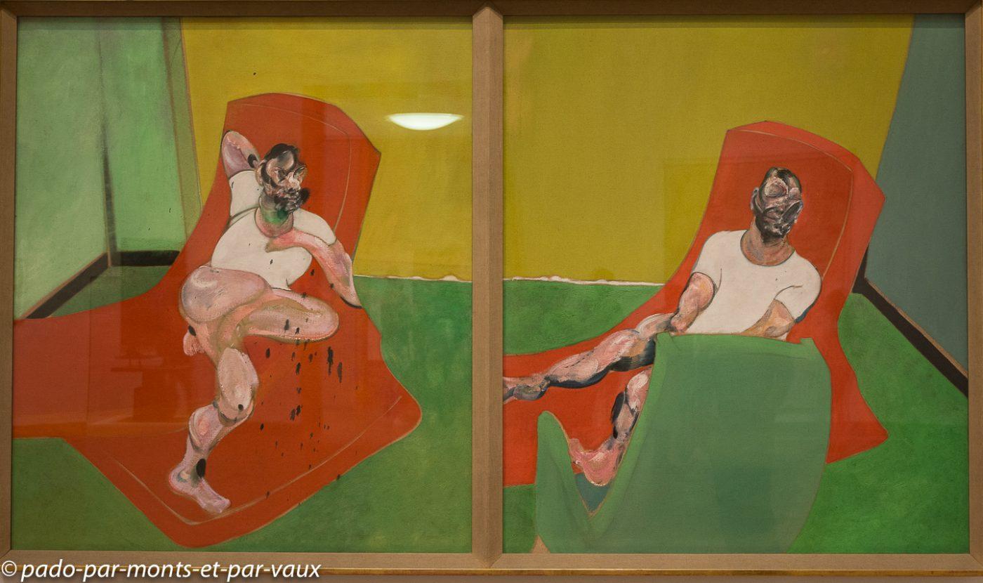 Stockholm - musee d'art moderne - Bacon