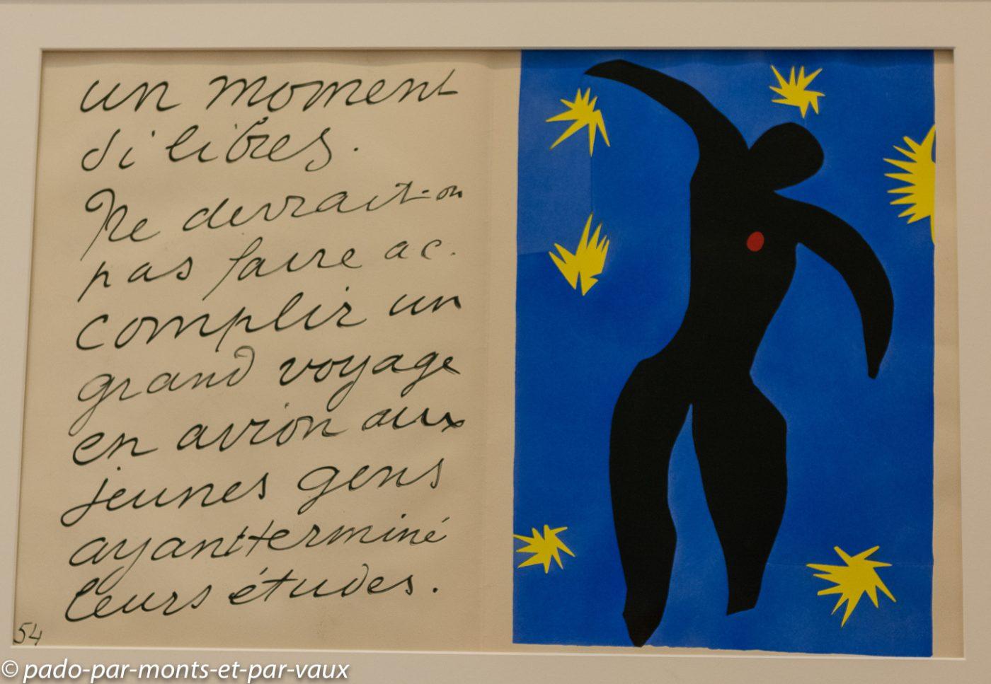 Stockholm - musee d'art moderne - Matisse