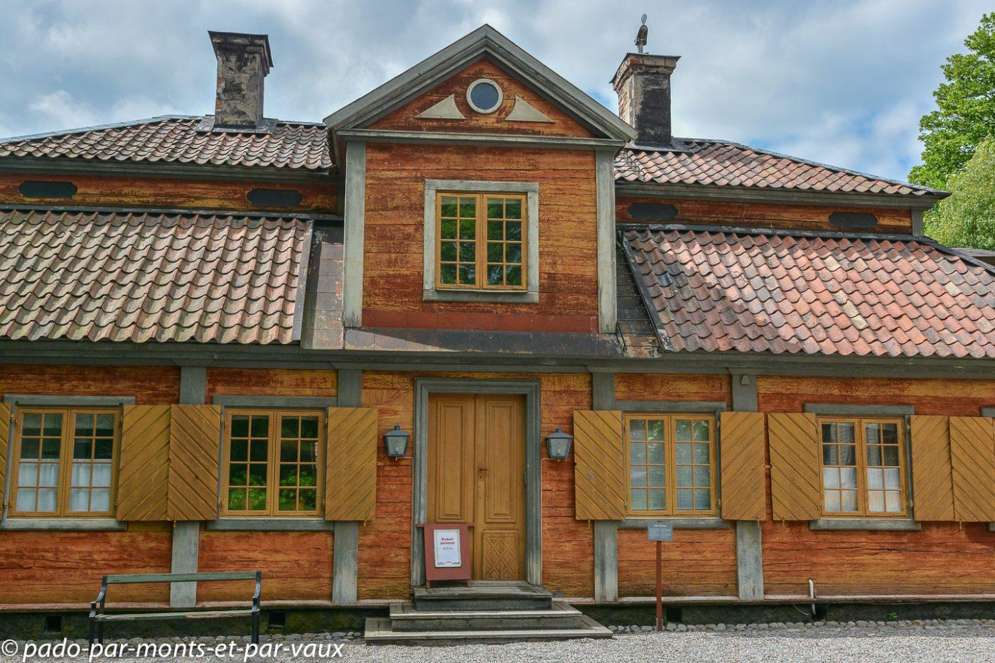 Stockholm - Ile de Djurgarden - Skansen