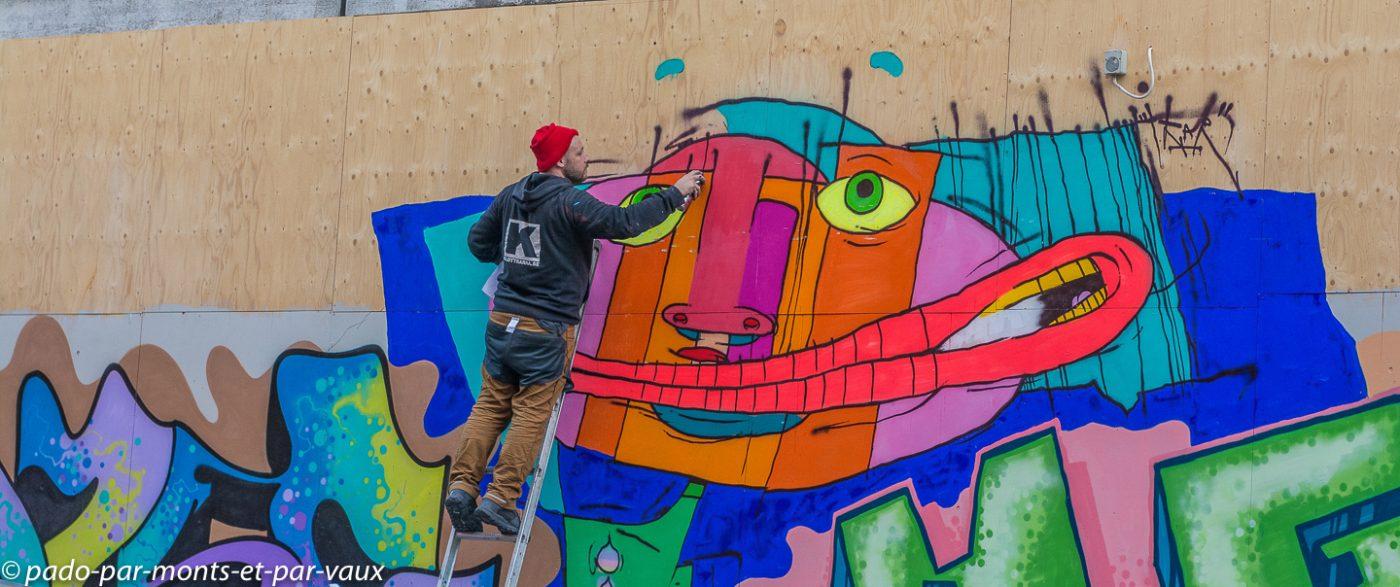 Street art Stockholm