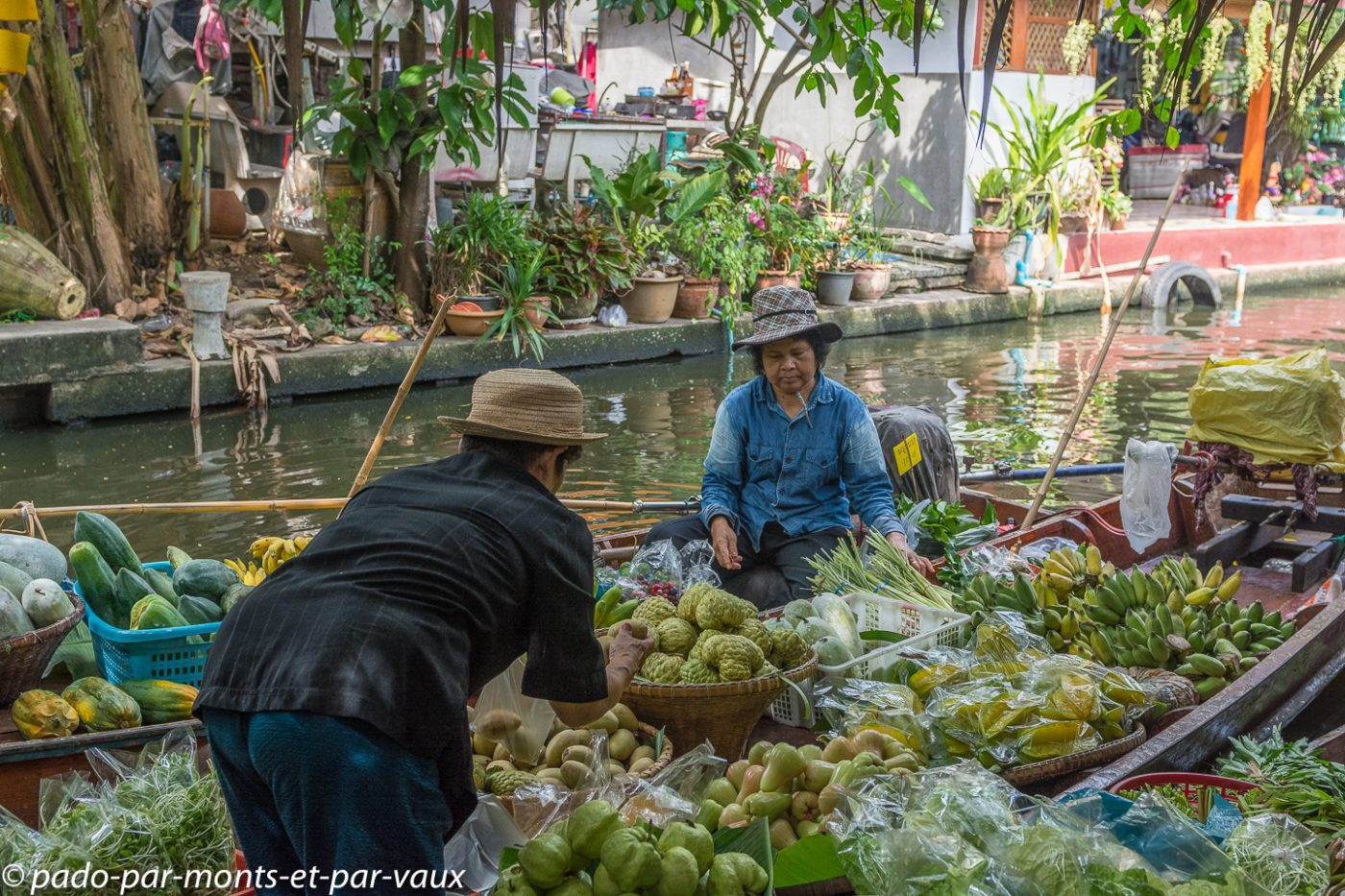 Marché de Khlong Lat Mayom