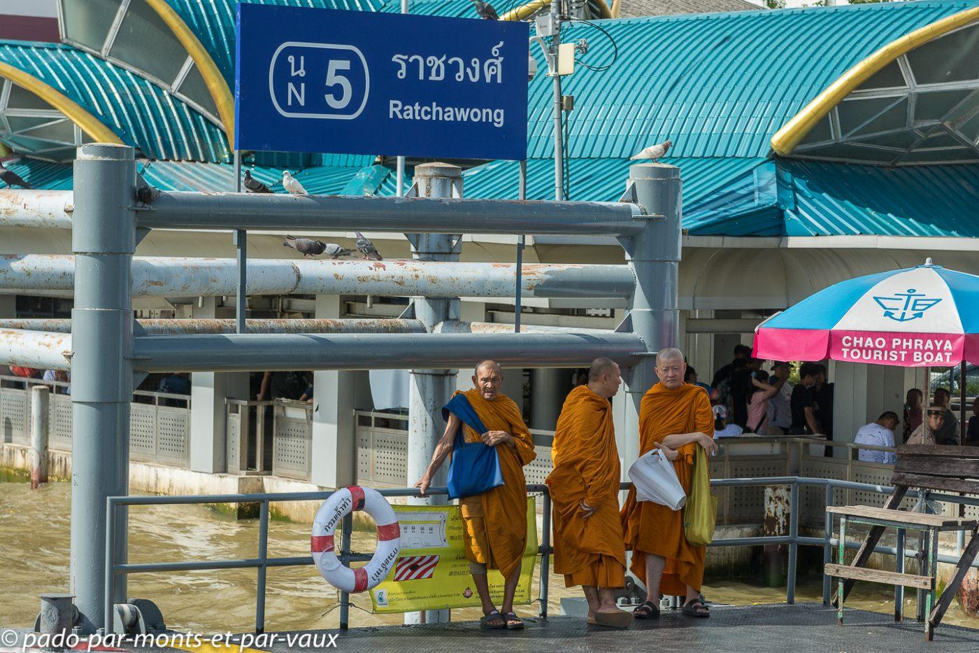Sur le Chao Phraya