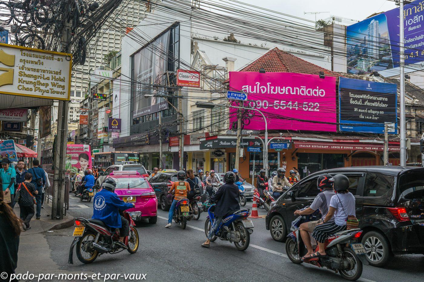 Bangkok - trafic