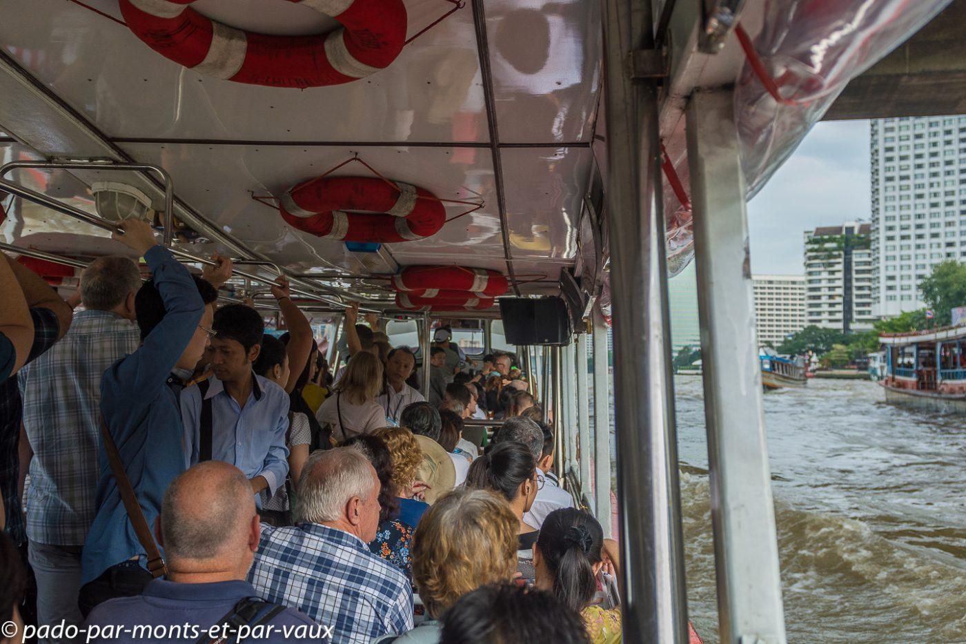 Bangkok - bateau express