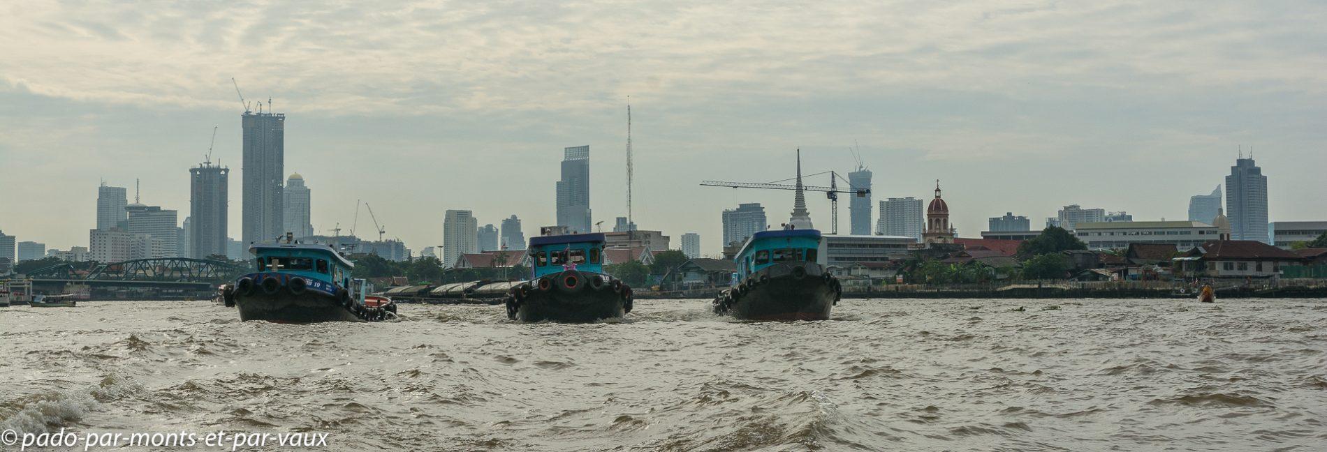Bangkok - remorqueurs