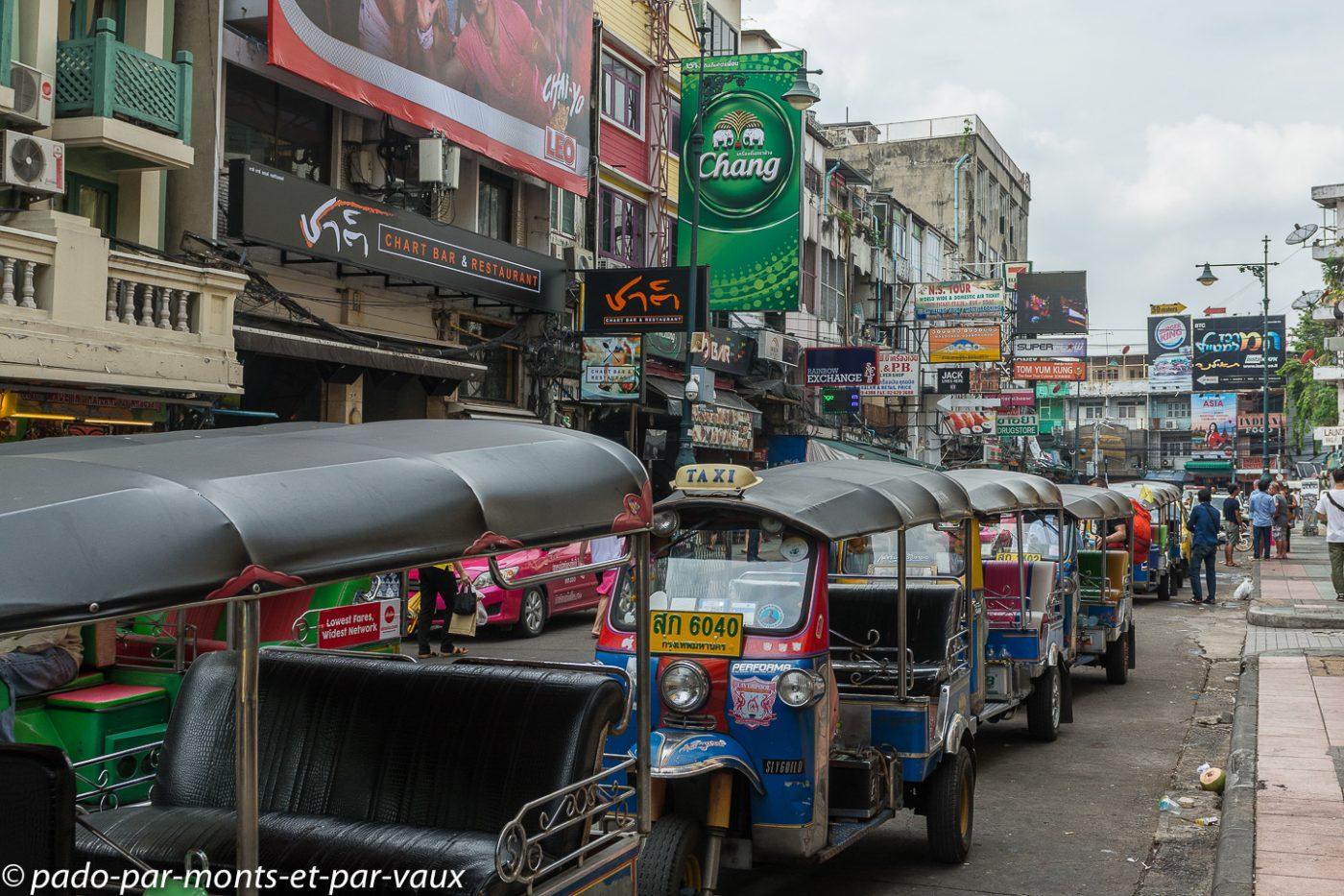 Bangkok - Scène de rue