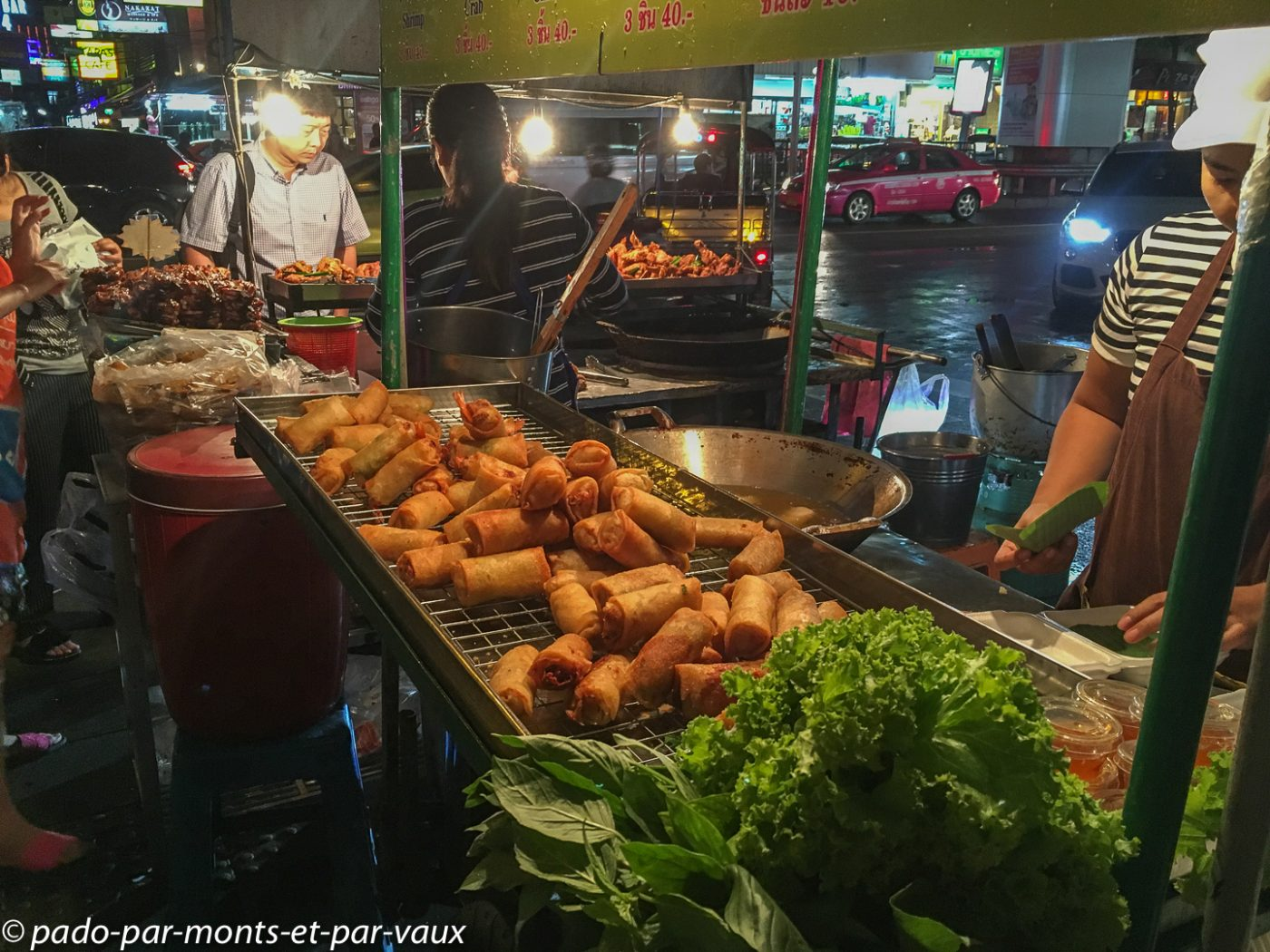 Bangkok - Marché de silom road