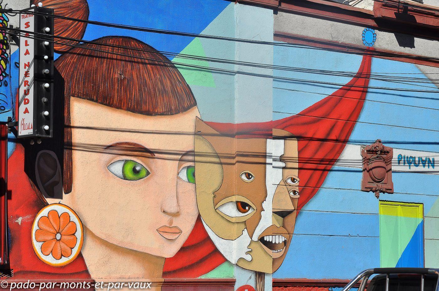 Street art Santiago du Chili 2011