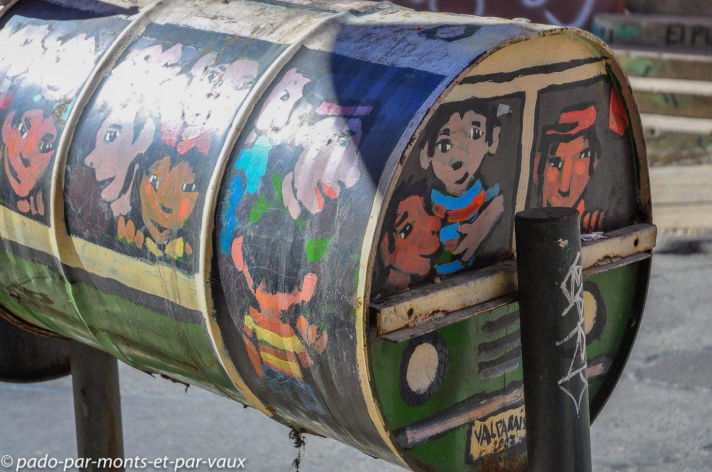 Street art Valparaiso 2011