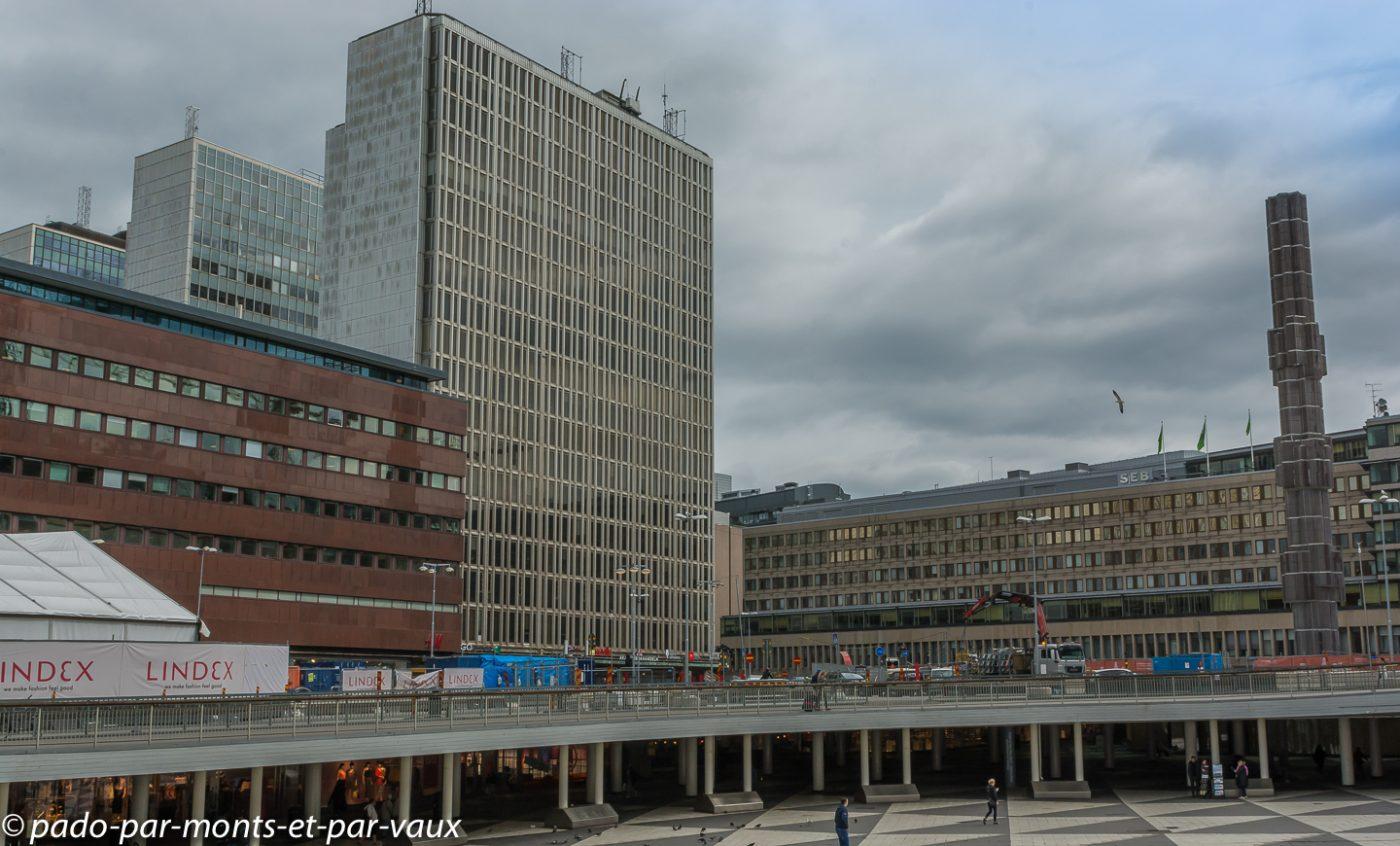 Stockholm - Norrmalm - place Sergels Torg