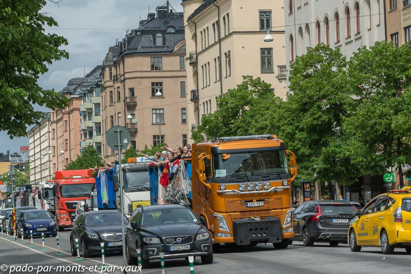 Stockholm - fin des cours