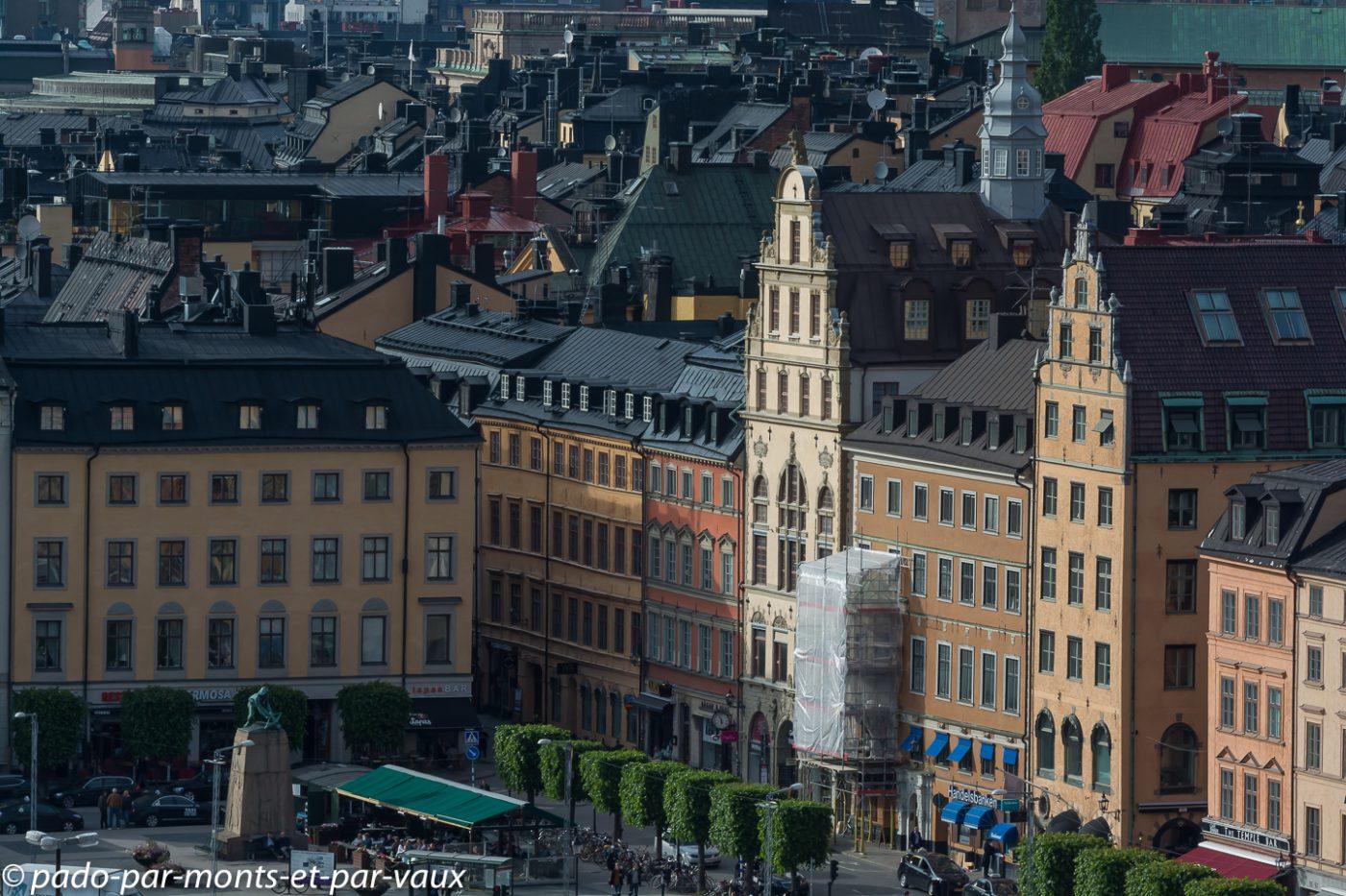 Stockholm - Vue depuis Sodermalm