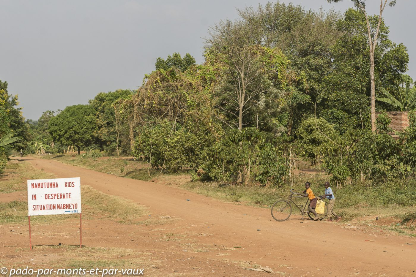 route vers Mbale