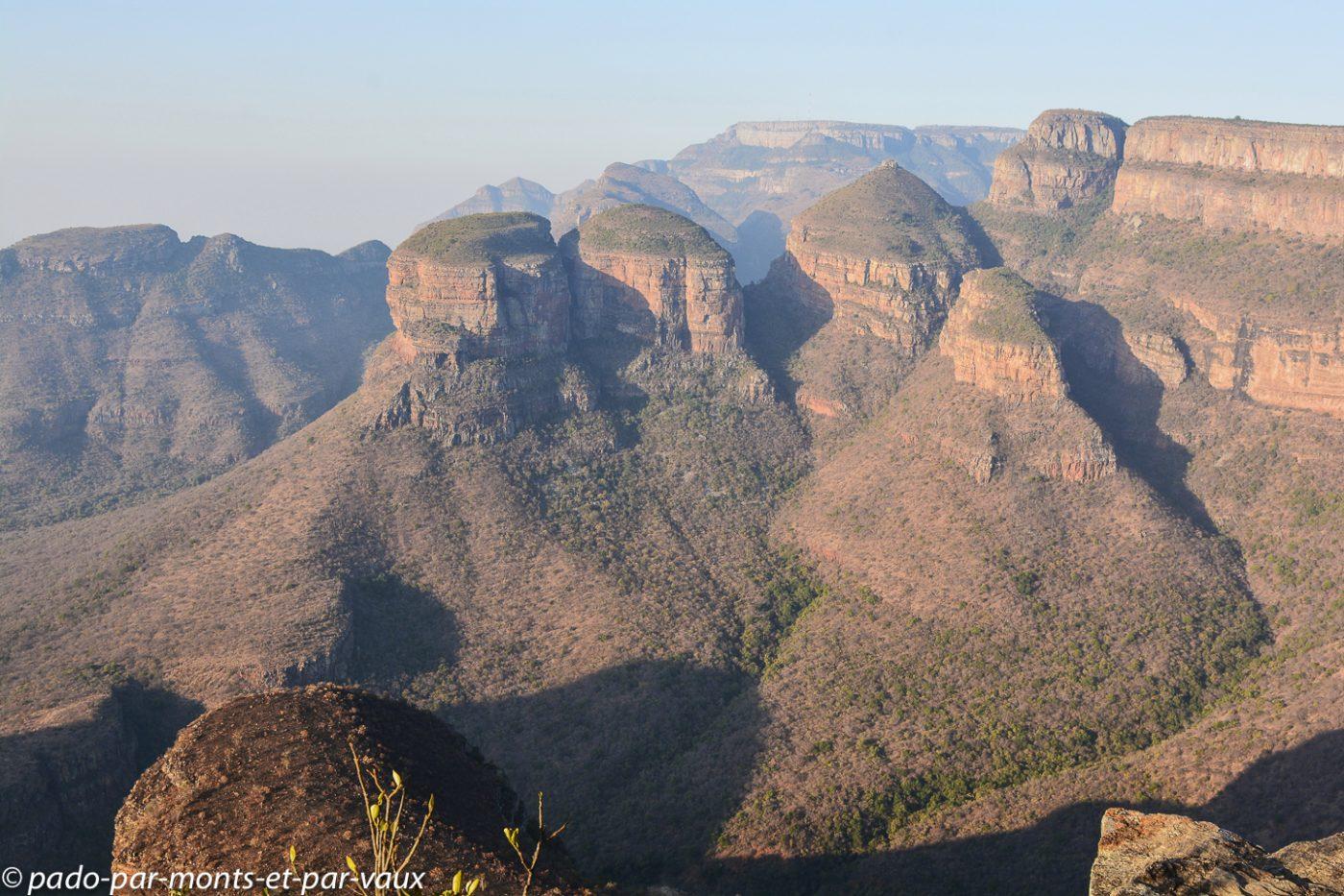 Blyde river canyon - Les trois rondavels