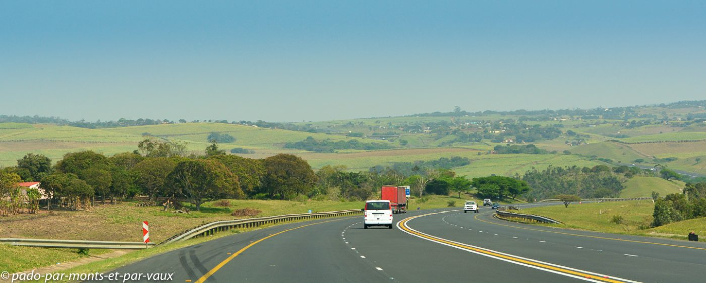Route vers Durban