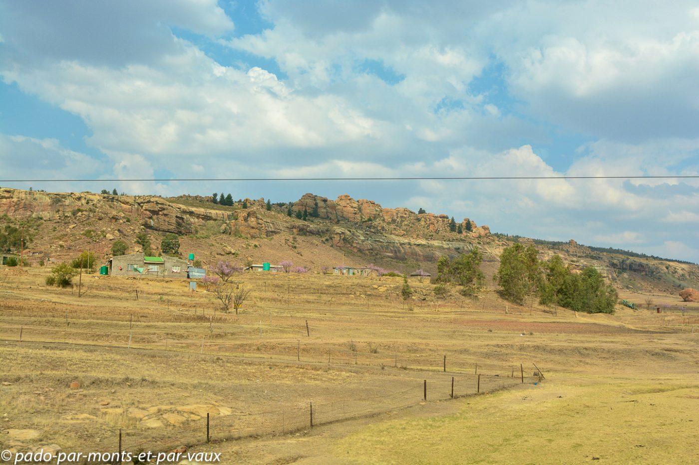 Lesotho - route de Maseru