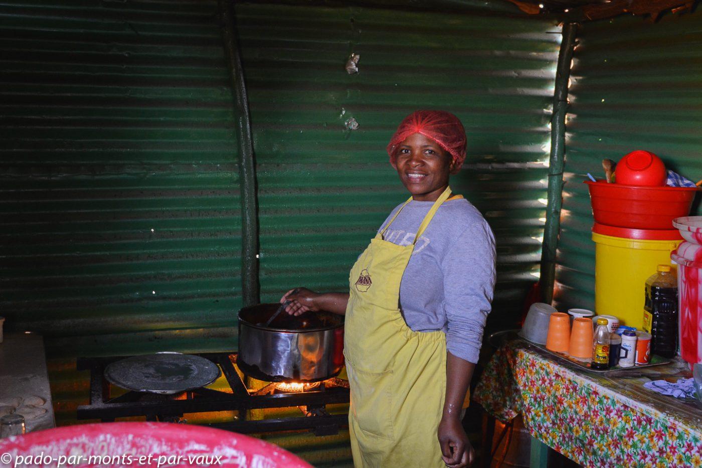 Lesotho - Malealea - boutique