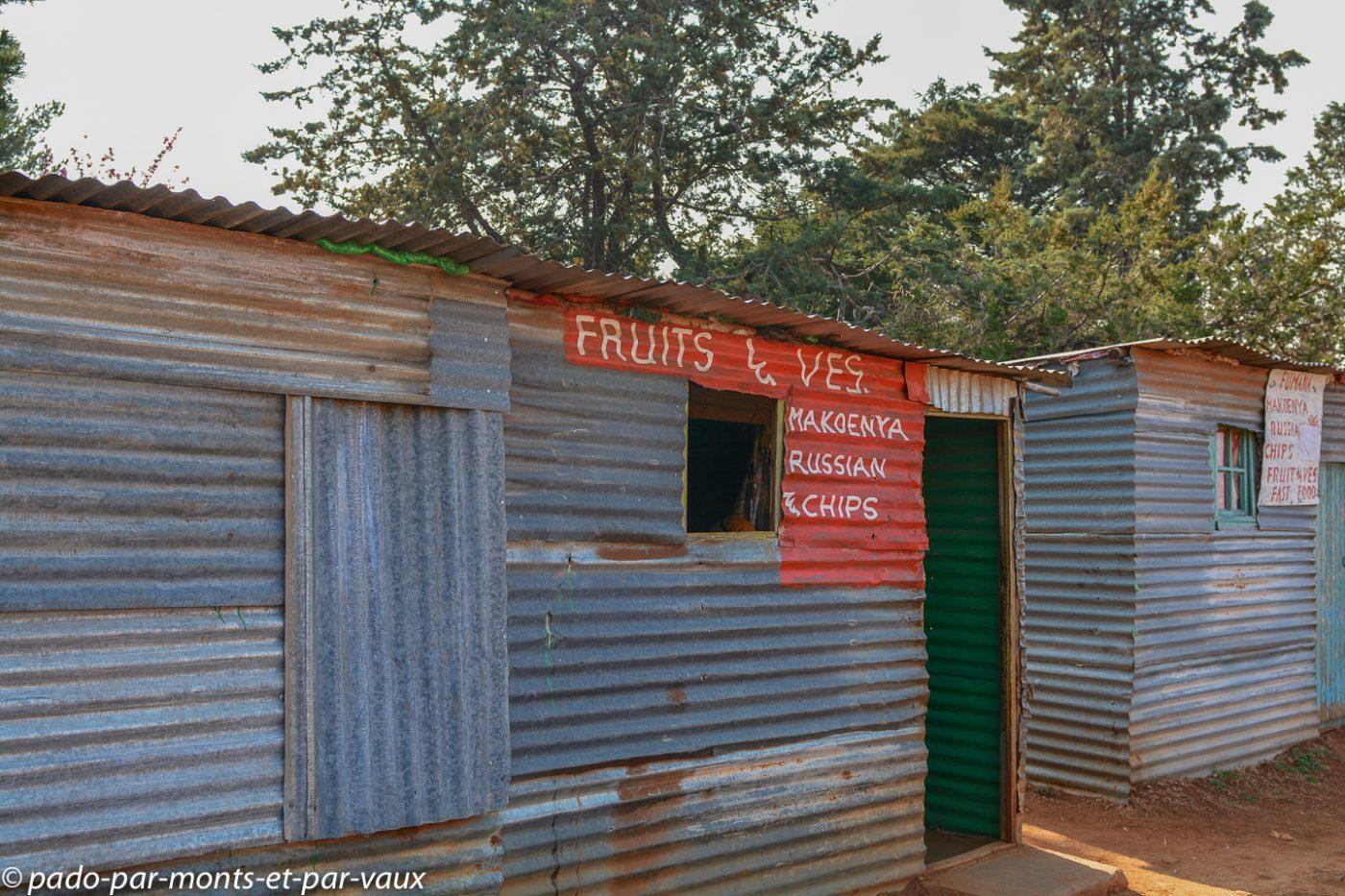 Lesotho - Malealea - boutiques