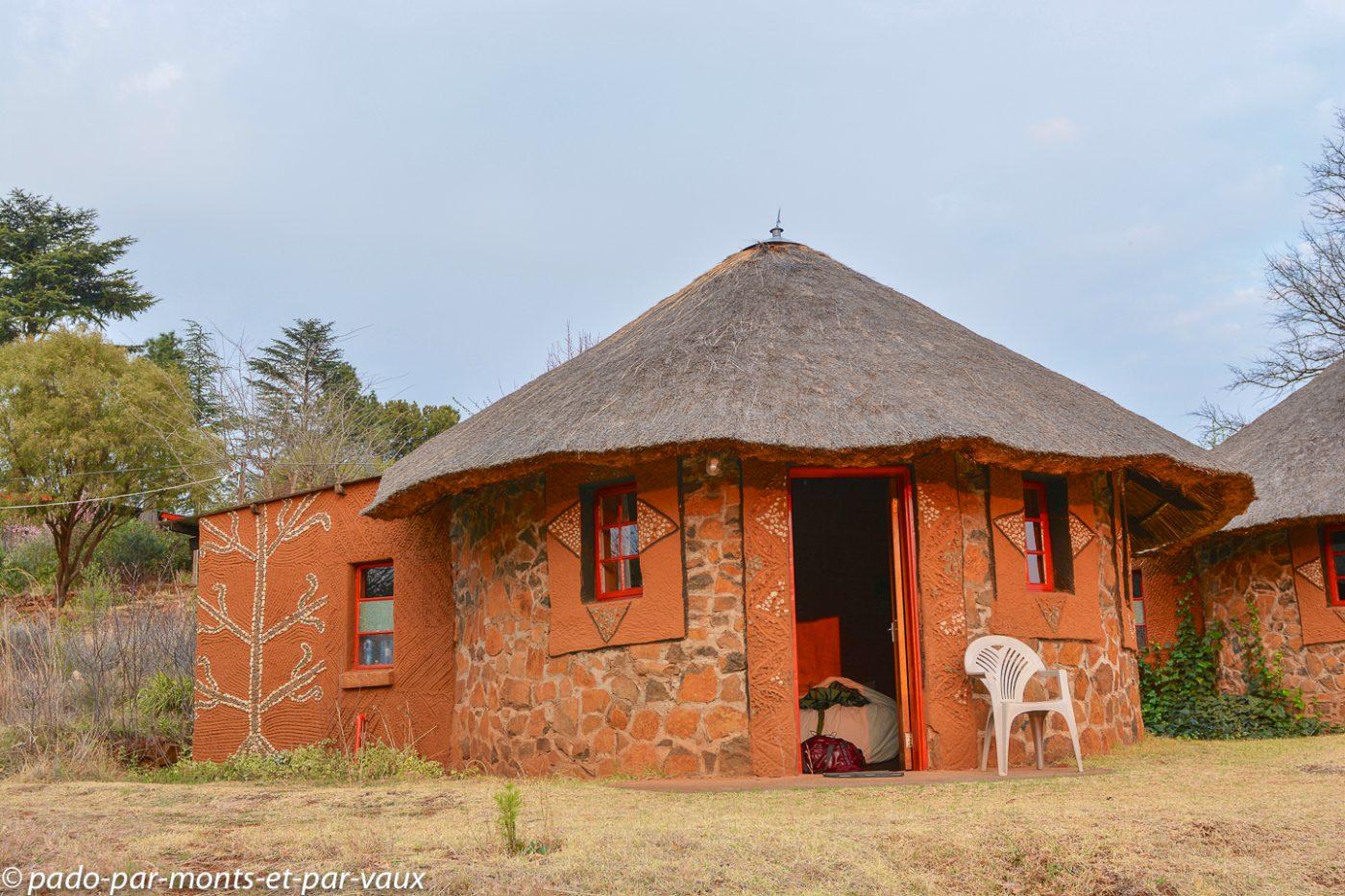 Lesotho - Malealea - Notre Rondavel