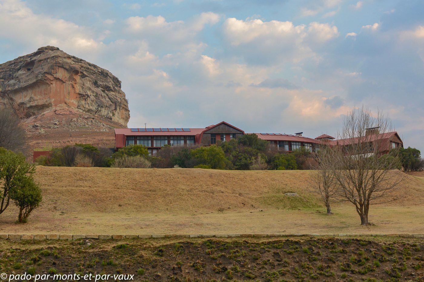 Afrique du Sud - Golden gate hotel