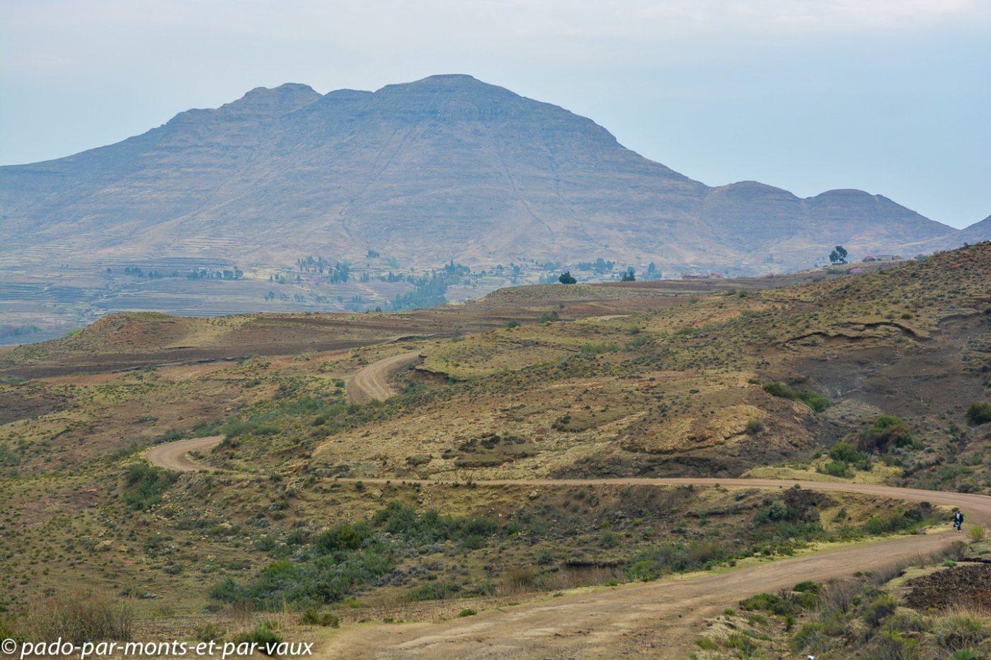 Lesotho - piste de Malealea