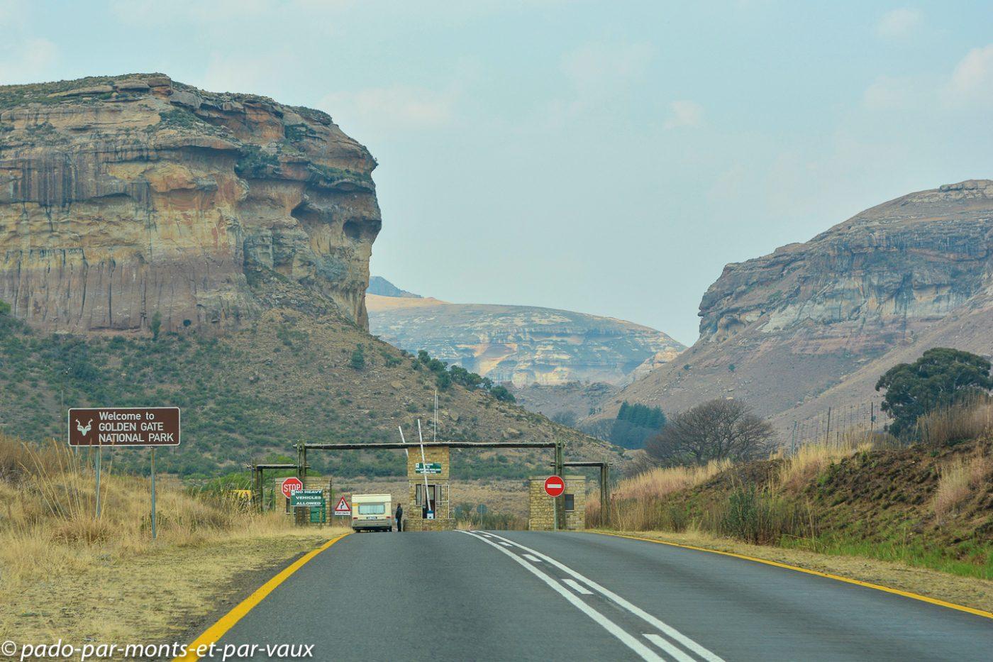 Afrique du Sud - Golden gate park