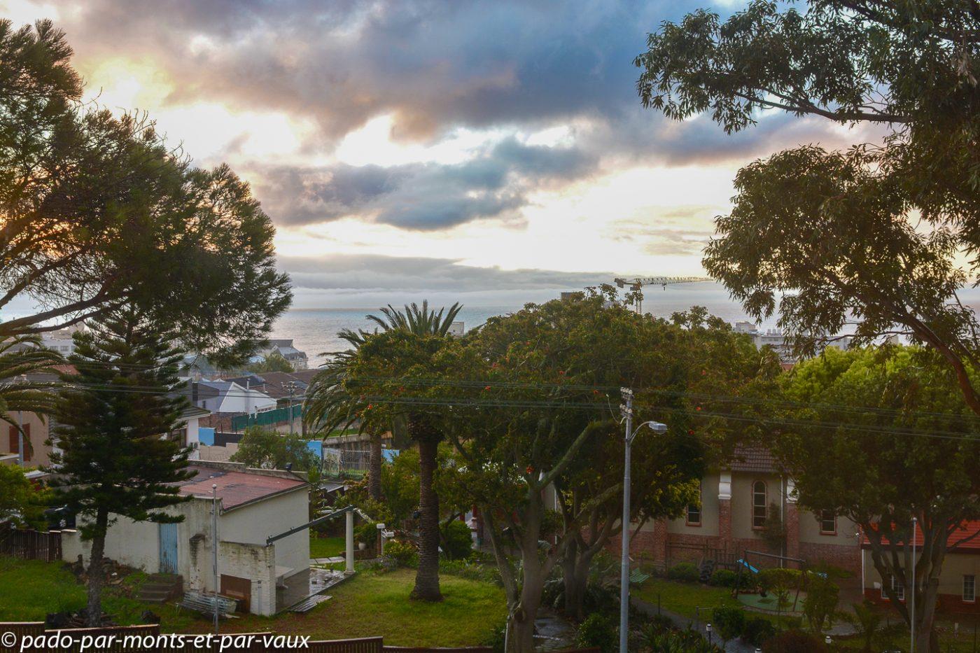 Le Cap - Clarenton Fresnaye - vue depuis notre chambre
