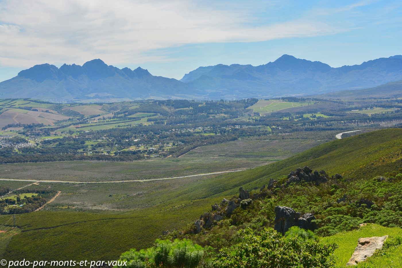 route Hermanus - Stellenbosch