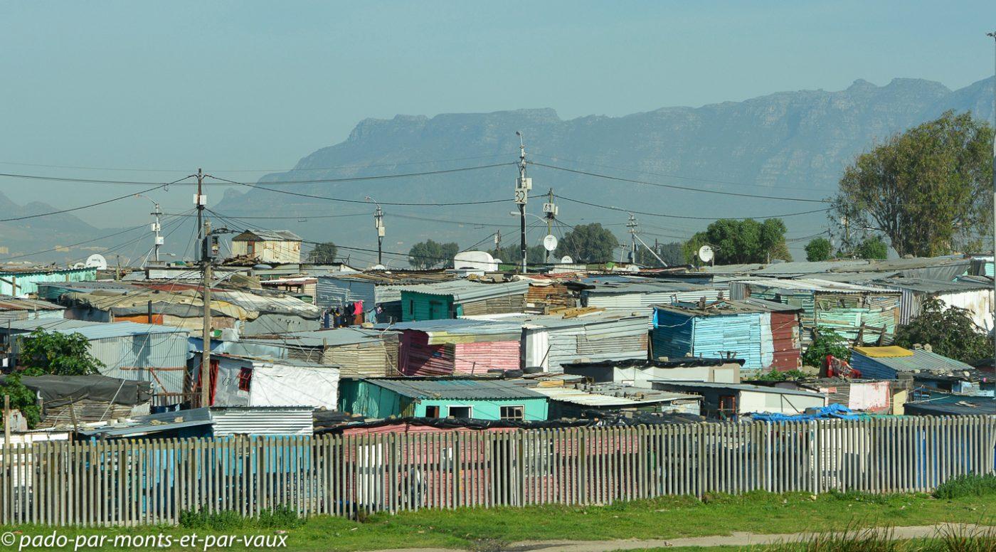 Le Cap - Townships