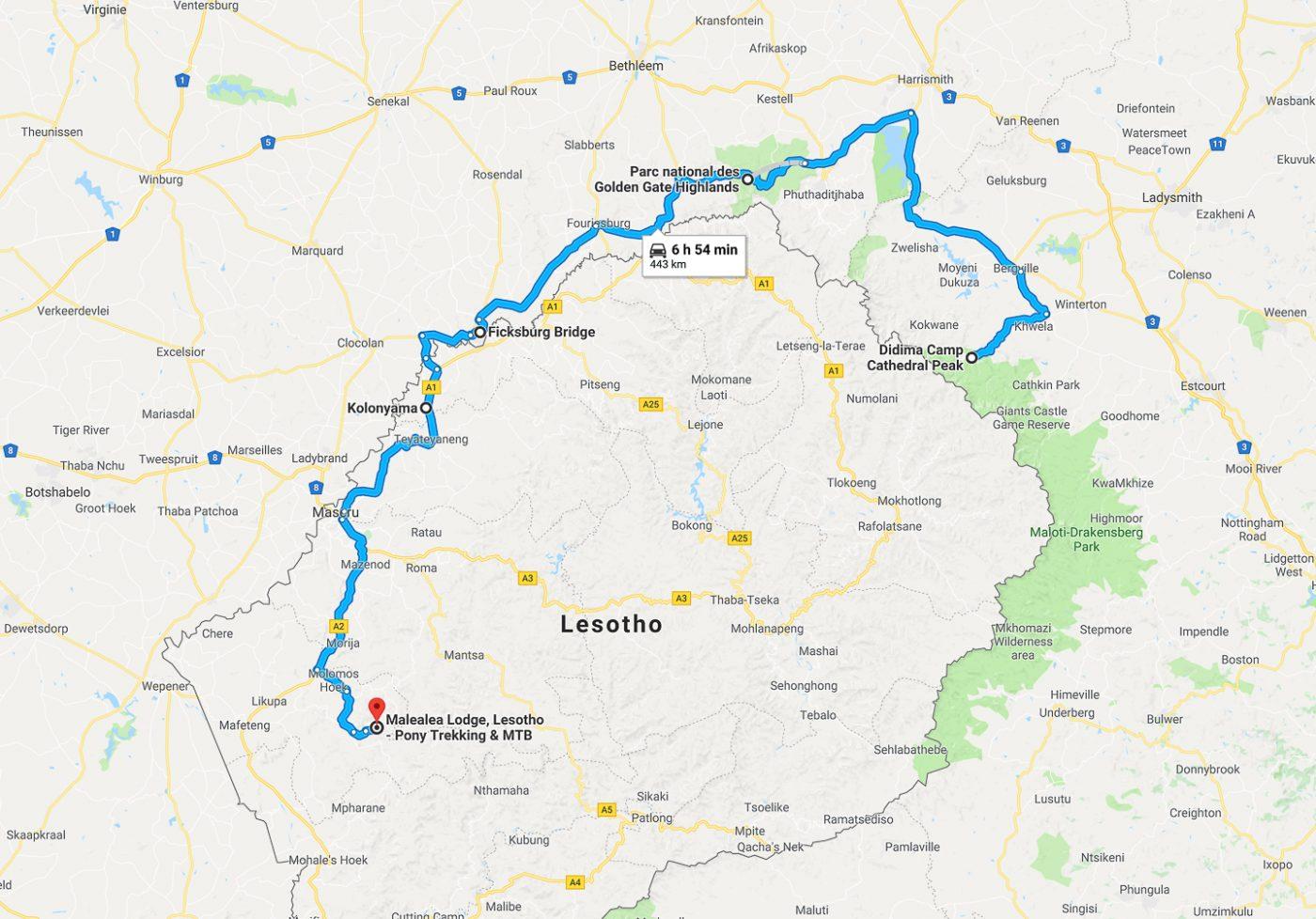 Drakensberg - Lesotho
