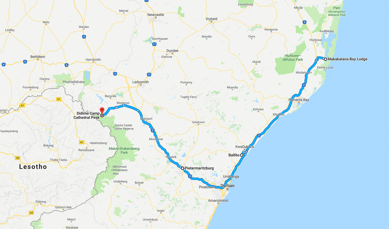 Santa Lucia Wetland park - Drakensberg