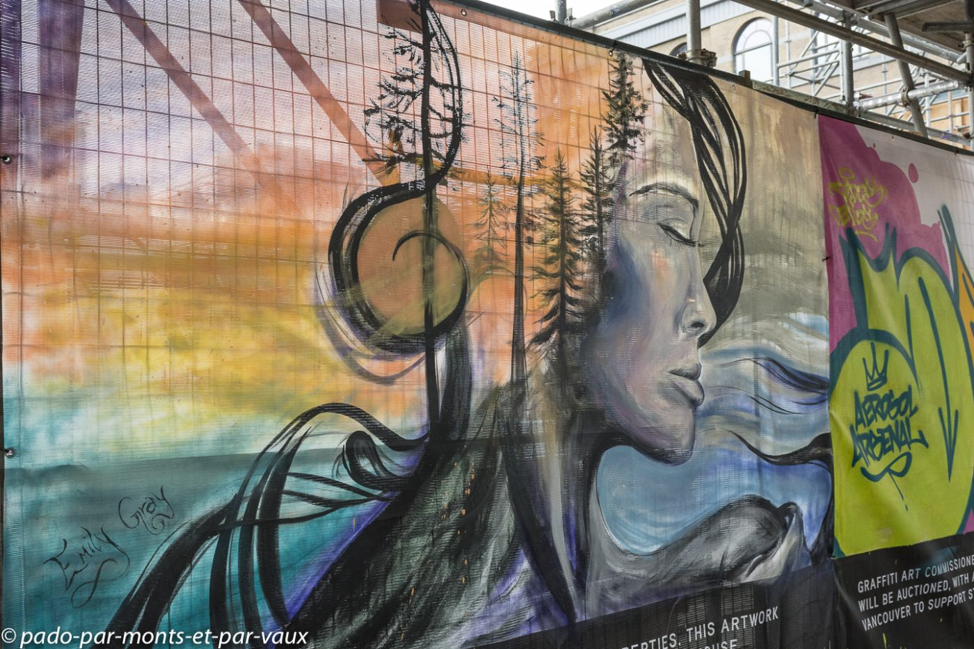 Street art Vancouver downtown 2018