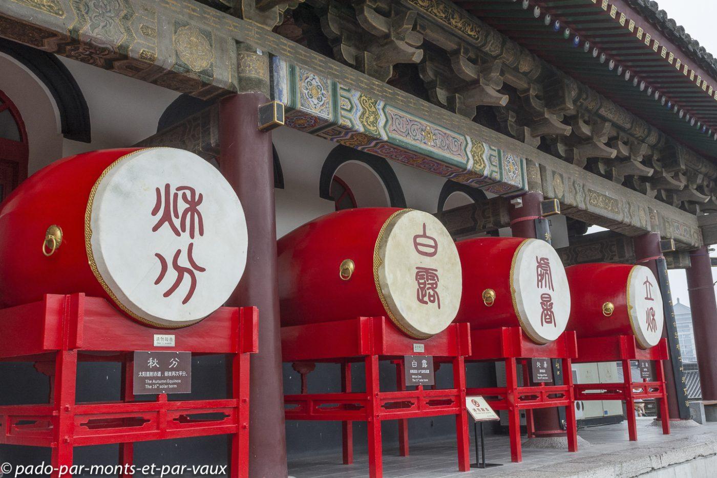 Xian - Tour du tambour