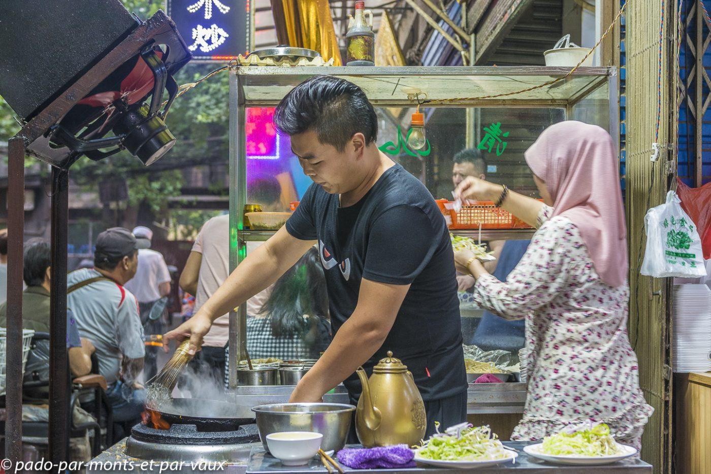 Xian  cuisson des nouilles