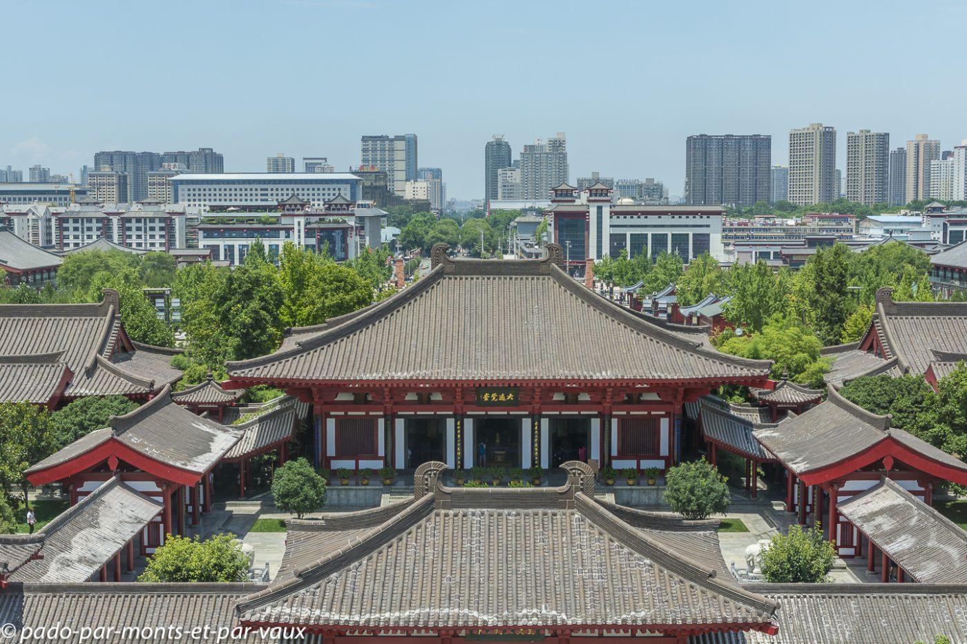 Xi'an  - Grande pagode de l'oie sauvage