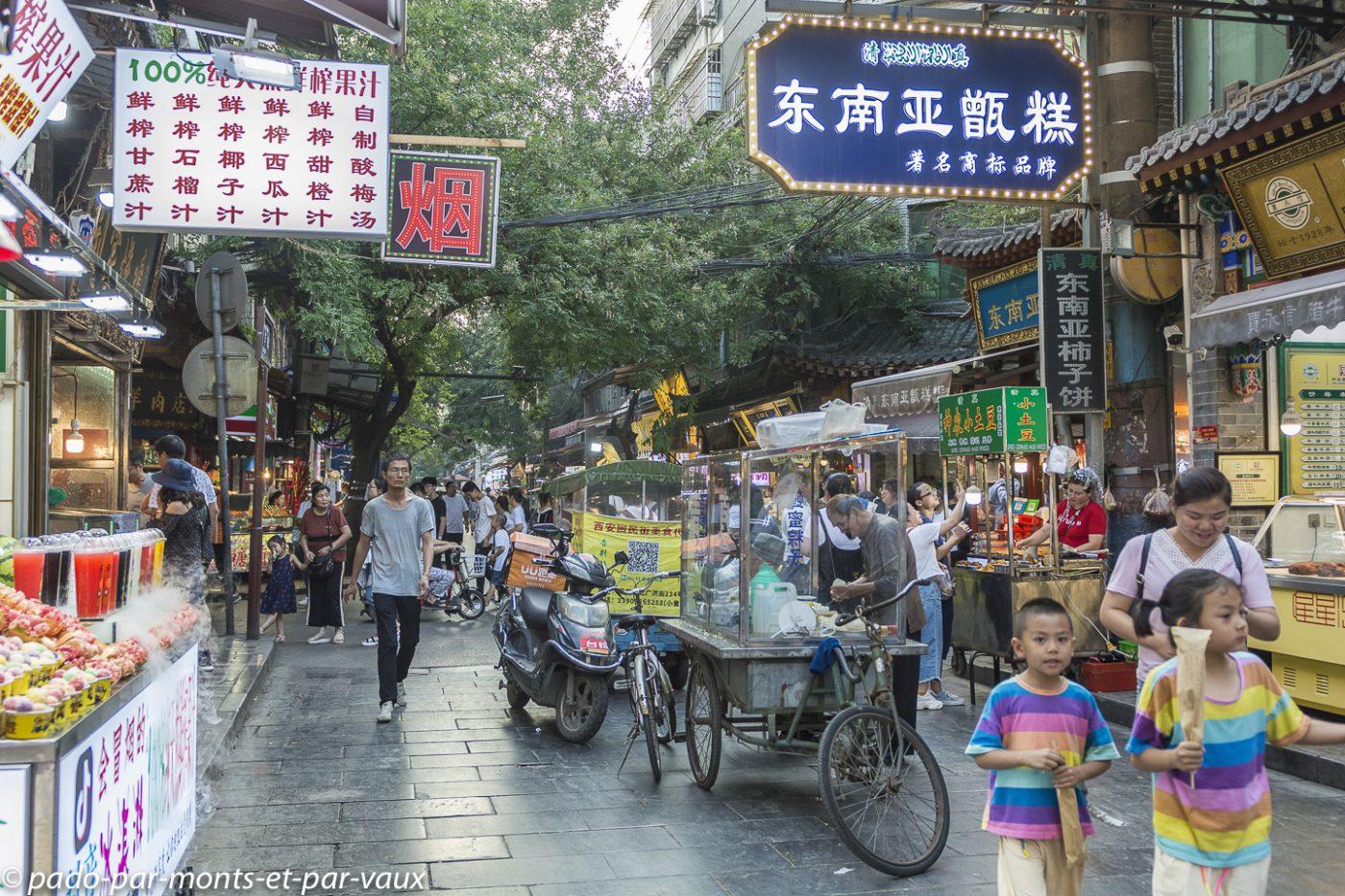 Xi'an  - Quartier musulman
