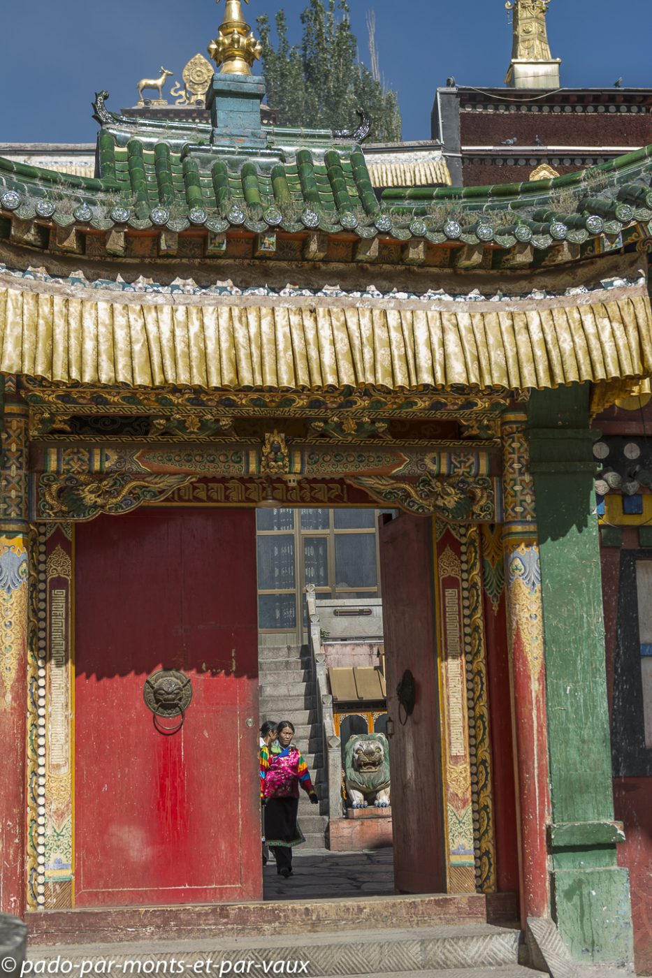 Tongren - Monastère de Rongwu