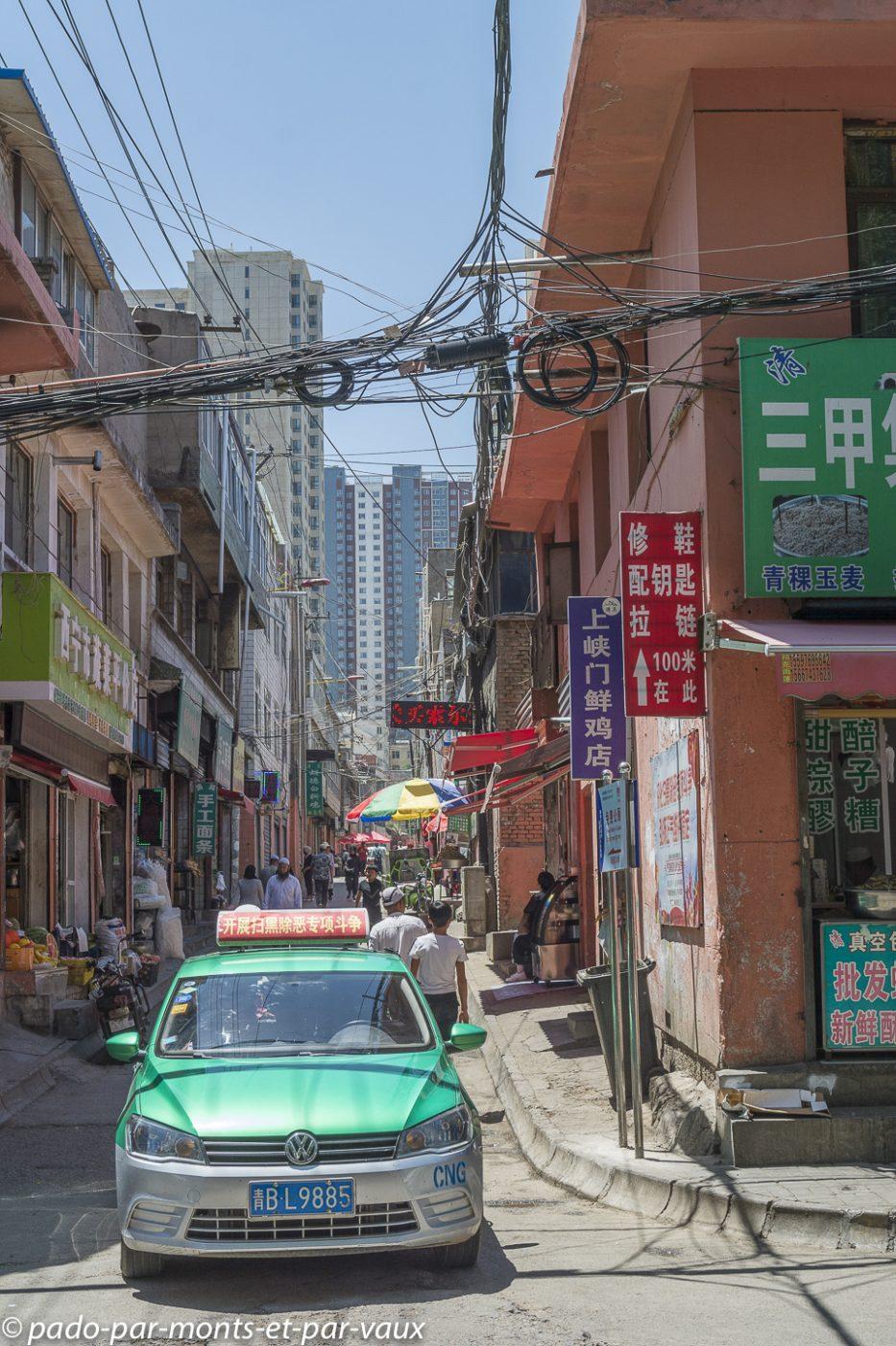 Xining - Quartier musulman