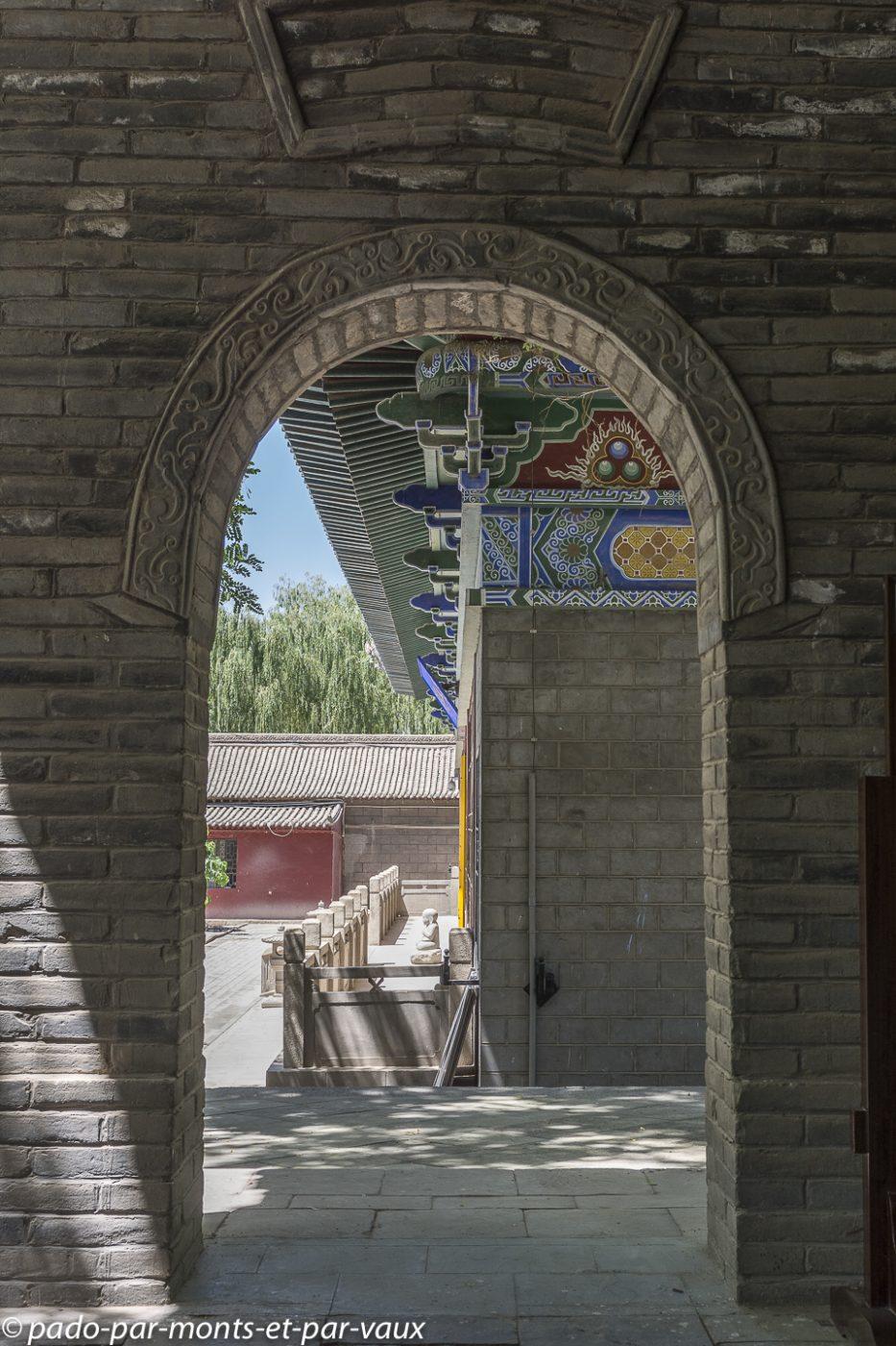 Zhangye  Temple du Bouddha géant